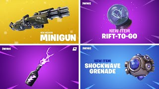 ALL FORTNITE NEW ITEM TRAILERS (Seasons 1 - 15)