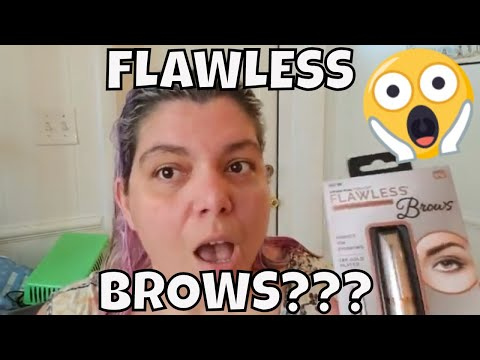 Finishing Touch Flawless Brows: Does it work?