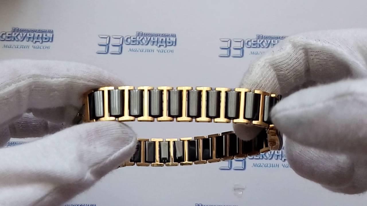 Женские наручные часы Romanson HL5154SMW(BK) - YouTube