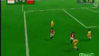WorldWide Soccer 98 Gameplay