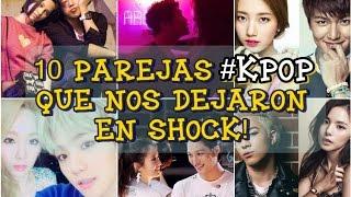10 Parejas #KPOP que nos dejaron en shock!!