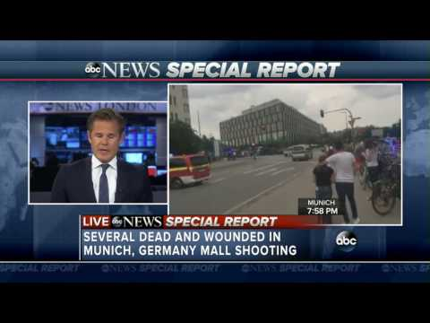 Munich Mall Shooting 6 Dead in Germany - Manhunt Underway - ISIS claims responsibility