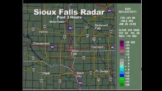 1-26-13 St. Paul, MN TPT-WX (Winter Storm Watch) - 7:45 am