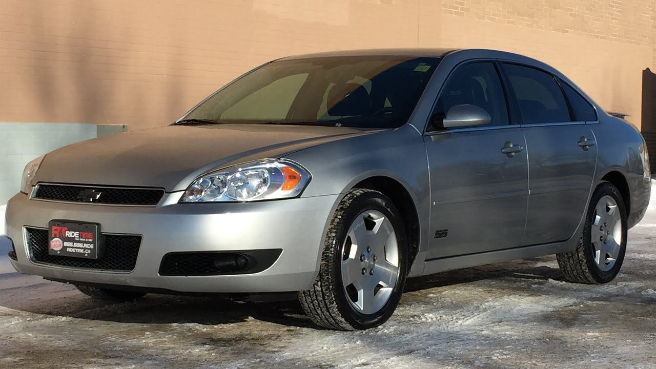 2008 Chevrolet Impala SS   5.3L V8, Leather, Alloy Wheels, Heated Seats |  HUGE VALUE   YouTube