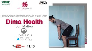 Percorso prevenzione e salute - Dima Health - Livello 1 - 5  (Live)
