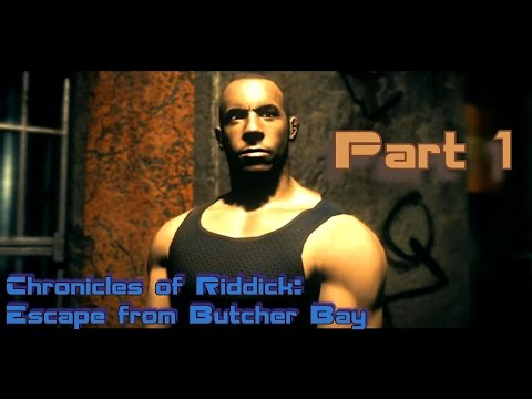 Chronicles of Riddick: Escape from Butcher Bay прохождение Hardcore =10= Фантом