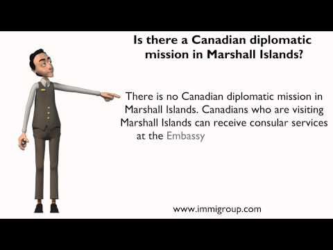 Is there a Canadian diplomatic mission in Marshall Islands?