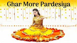 Ghar More Pardesiya | Kalank | Semi-classical Dance Choreography by Dhruvi Shah