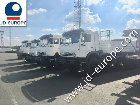 20 X KAMAZ TRUCKS   shipped to Angola