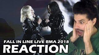 Baixar Christina Aguilera & Demi Lovato - Fall in Line Billboard Music Awards 2018 (REACTION)
