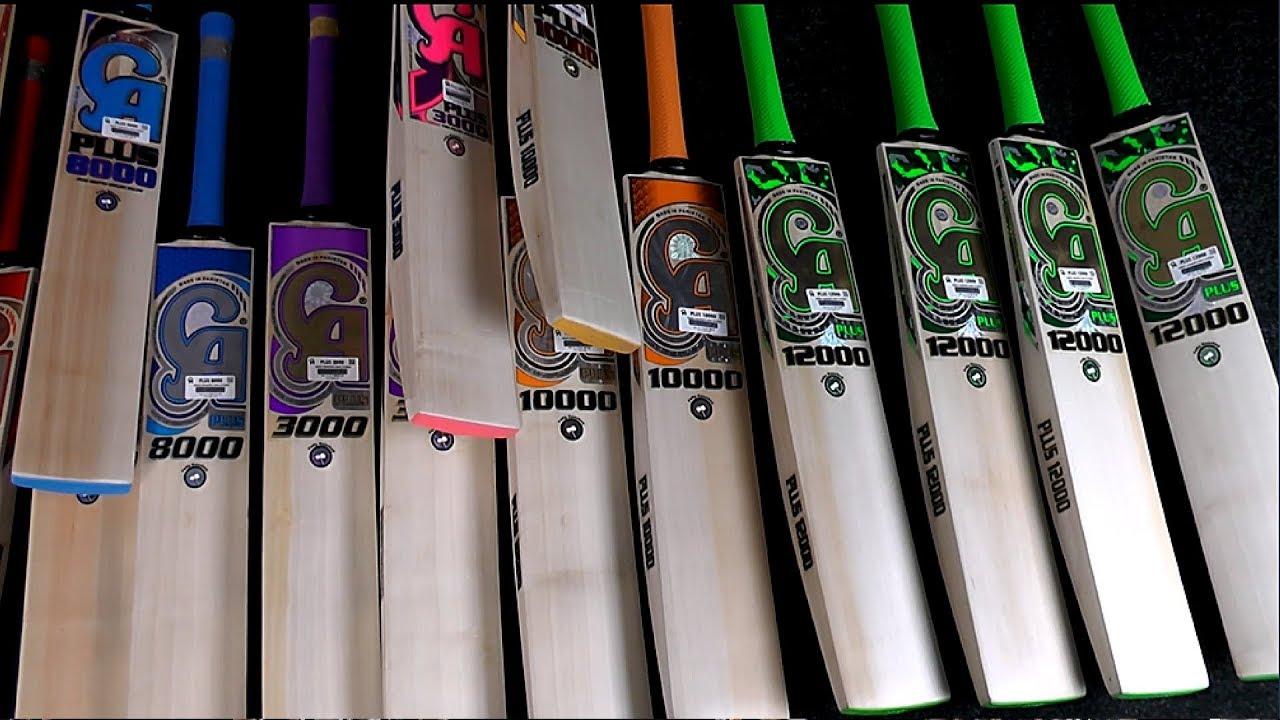 New Ca Cricket Bats Boasting 2018 Stickers