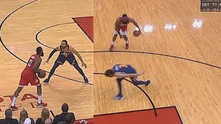 James Harden Teaches Ricky Rubio A Lesson For Guarding Him 1V1 By Breaking His Ankles!