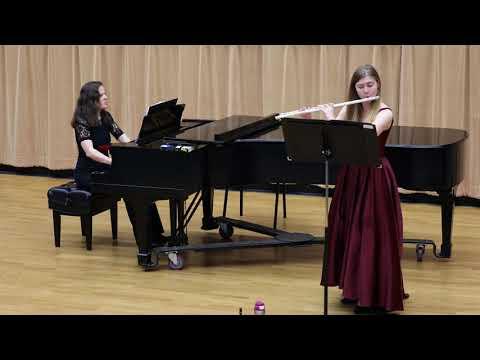 Sonata (Three Lakes) for Flute and Piano (I. Lake Wallenpaupack) Daniel Dorff