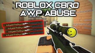 Roblox CBRO Casual Gameplay - Awp Abusing