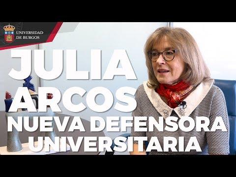 Toma de posesión de la Defensora Universitaria. Universidad de Burgos