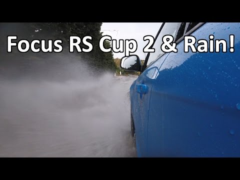 Focus RS with Cup 2 Tyres in the Rain - Initial impressions - Vlog 25
