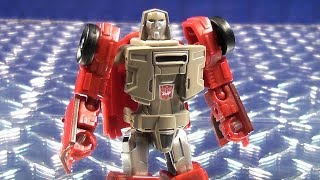 TRANSFORMERS GENERATIONS POWER OF THE PRIMES LEGENDS CLASS WINDCHARGER VIDEO TOY REVIEW