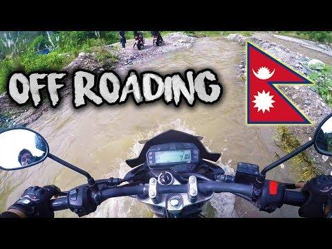 OFF-ROADING IN RAMECHHAP | MOTOVLOG [ DAY 3 ]