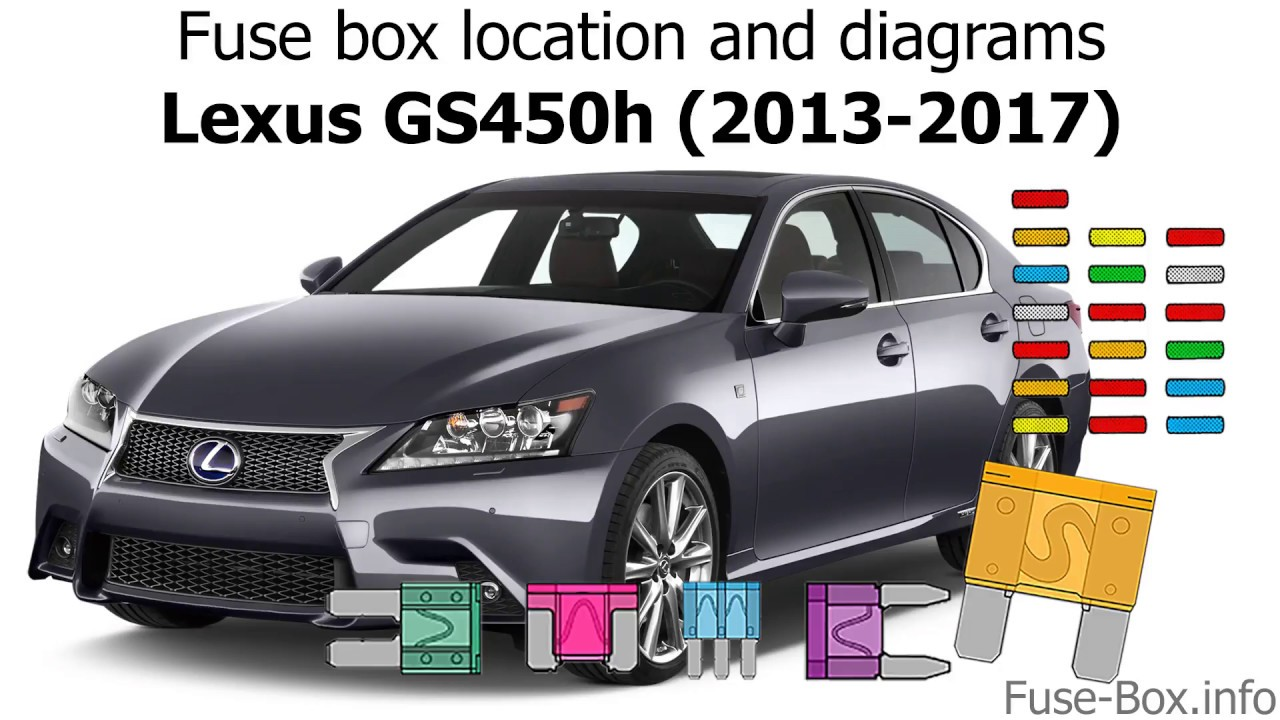 fuse box location and diagrams lexus gs450h 2013 2017 youtubefuse box location and diagrams [ 1280 x 720 Pixel ]