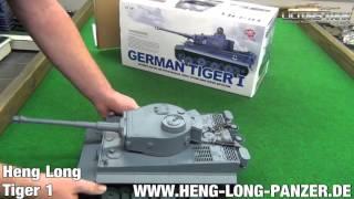 Танк р/у 2.4 GHz 1:16 Heng Long Tiger I з пневмопушкой і димом (HL3818-1)
