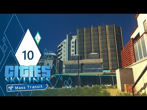 Cities: Skylines Mass Transit | Part 10 | PLAYING WITH DENSITY