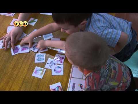 Видеозапись Развивающие игры  для детей 4  5 лет. Мамина школа. ТСВ
