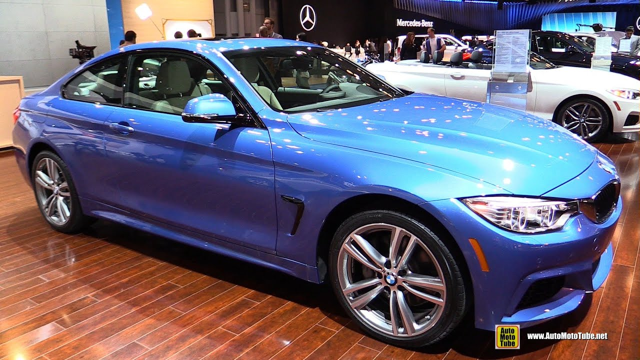 2015 bmw 435i xdrive coupe exterior and interior walkaround 2015 new york auto show youtube