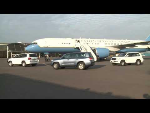 Umunyamabanga wa Leta zunze ubumwe za Amerika John Kerry yageze i Kigali