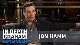 Jon Hamm on struggling with depression