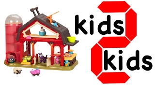 Btoys Дитячий Баа Баа. Дізнатися назви тварин з іграшкою ферма. діти 2 діти. Вчимо англійську тварини для дітей.