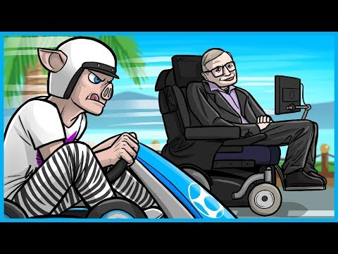 MARIO KART 8 DELUXE FUNNY MOMENTS! - STEPHEN HAWKING, NOGLA THE PEDO, AND MORE BOB-OMB RAGE!!