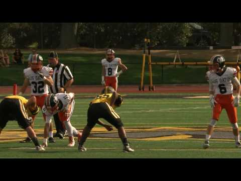 Los Gatos Wildcats vs Mountain View Spartans - Football, October 7, 2016