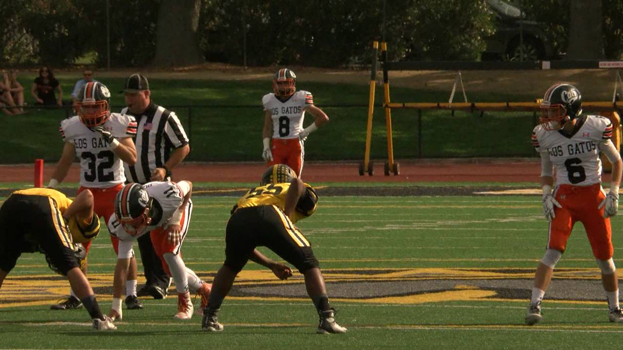 Los Gatos Wildcats Vs Mountain View Spartans Football October 7