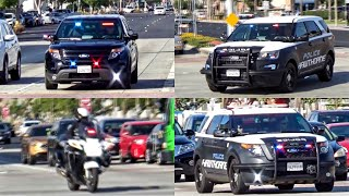 7 Hawthorne Police Units Responding