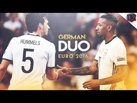 Jerome Boateng & Mats Hummels - German Duo - Euro 2016 - Defensive Skills | HD