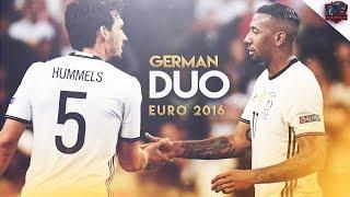 Jerome Boateng & Mats Hummels - German Duo - Euro 2016 - Defensive Skills   HD