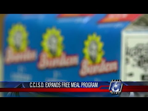 CCISD offering all students free breakfast and lunch