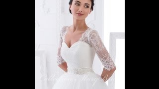 СВАДЕБНЫЕ ПЛАТЬЯ с Рукавами - КРУЖЕВО - 2018 / Wedding Dresses with Sleeves - LACE