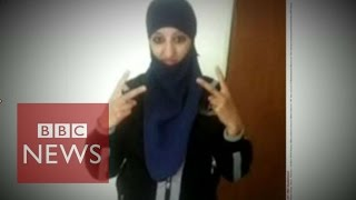 Who was Europe's first female suicide bomber? BBC News