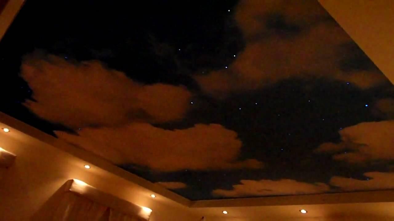 babykamer kinderkamer spanplafond sterrenhemel wolkendruk heerlen ...