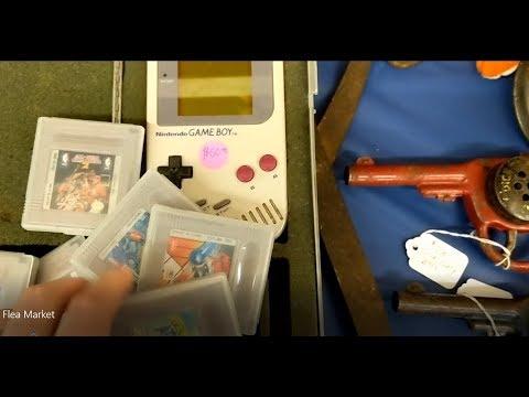 Video Games & Camera Scores at an Antique Show! Gameboy Set, Fire emblem 3DS, Folklore & More!