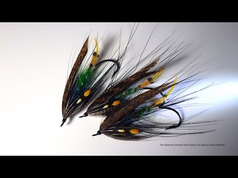 Tying The Balmoral Variant Dee Salmon Fly with Davie McPhail