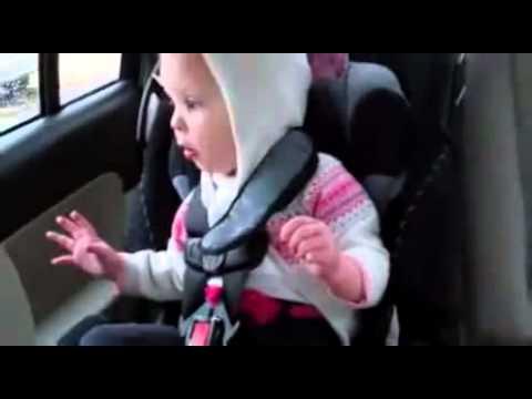Sweet Baby Boo Car Seat Dance - Kid Cudi Cleveland - YouTube