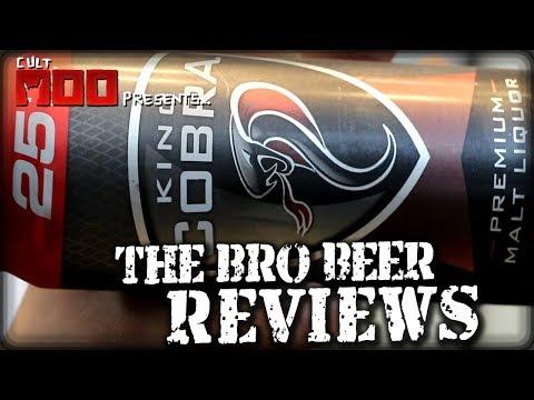 King Cobra Malt Liquor 6% abv - The Bro Beer Reviews