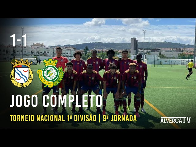 U19   FC Alverca 1 - 1 Vitória FC   Jogo Completo