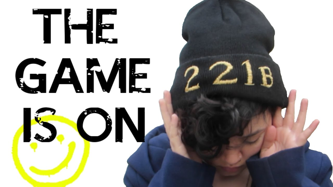 152a652777dcc6 DIY: Embroidered Sherlock Beanie! - YouTube