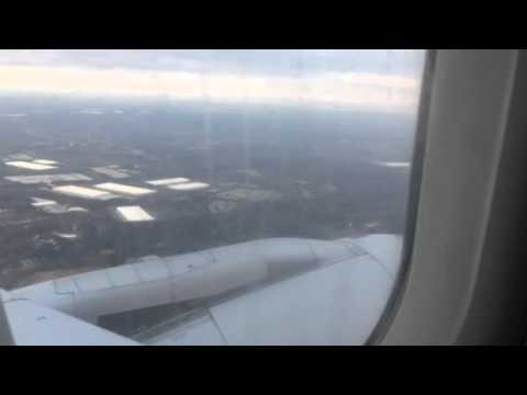 United Airlines B737 ATL-SFO Takeoff Friday Morning
