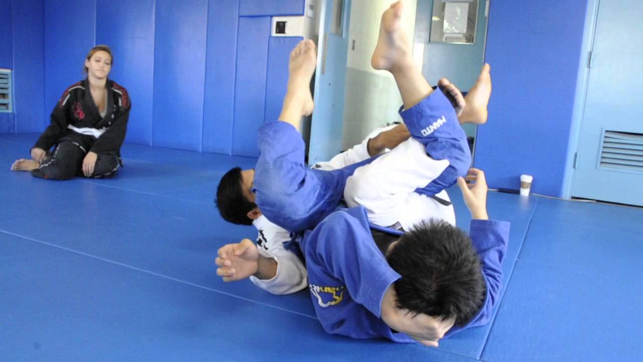 DRILL: Butterfly Guard Leg Weave with Back Take and Calf