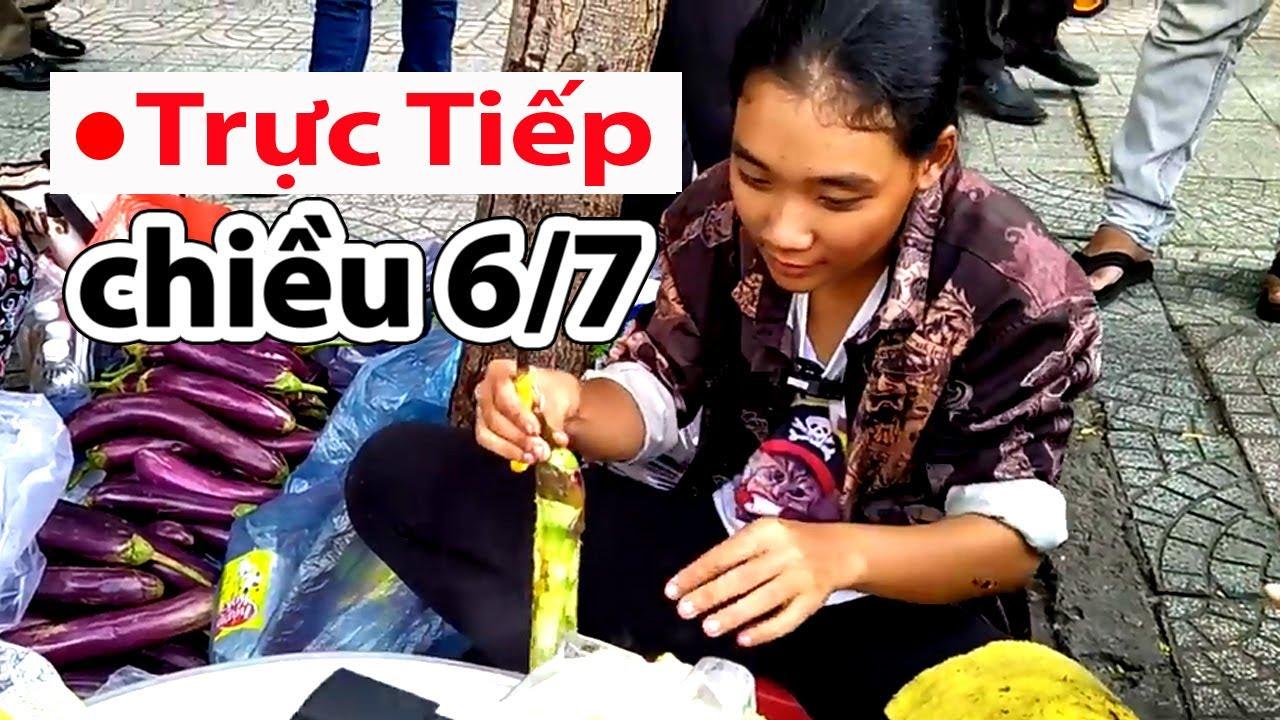 Trực tiếp Nga thôn nữ bán cà tím nướng chiều 6/7