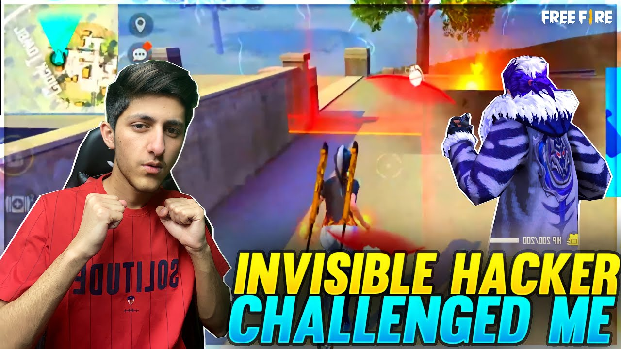 Invisible hacker Challenge me 1vs 4 Clash Squad  Match As Gaming Epic Battle In Garena Free ? Fire